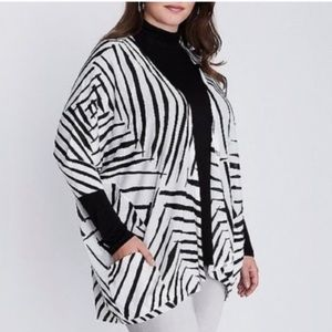 CARDIGAN OVER PIECE BY LANE BRYANT